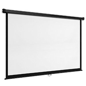 "100"" Drop Down Projector Screen"