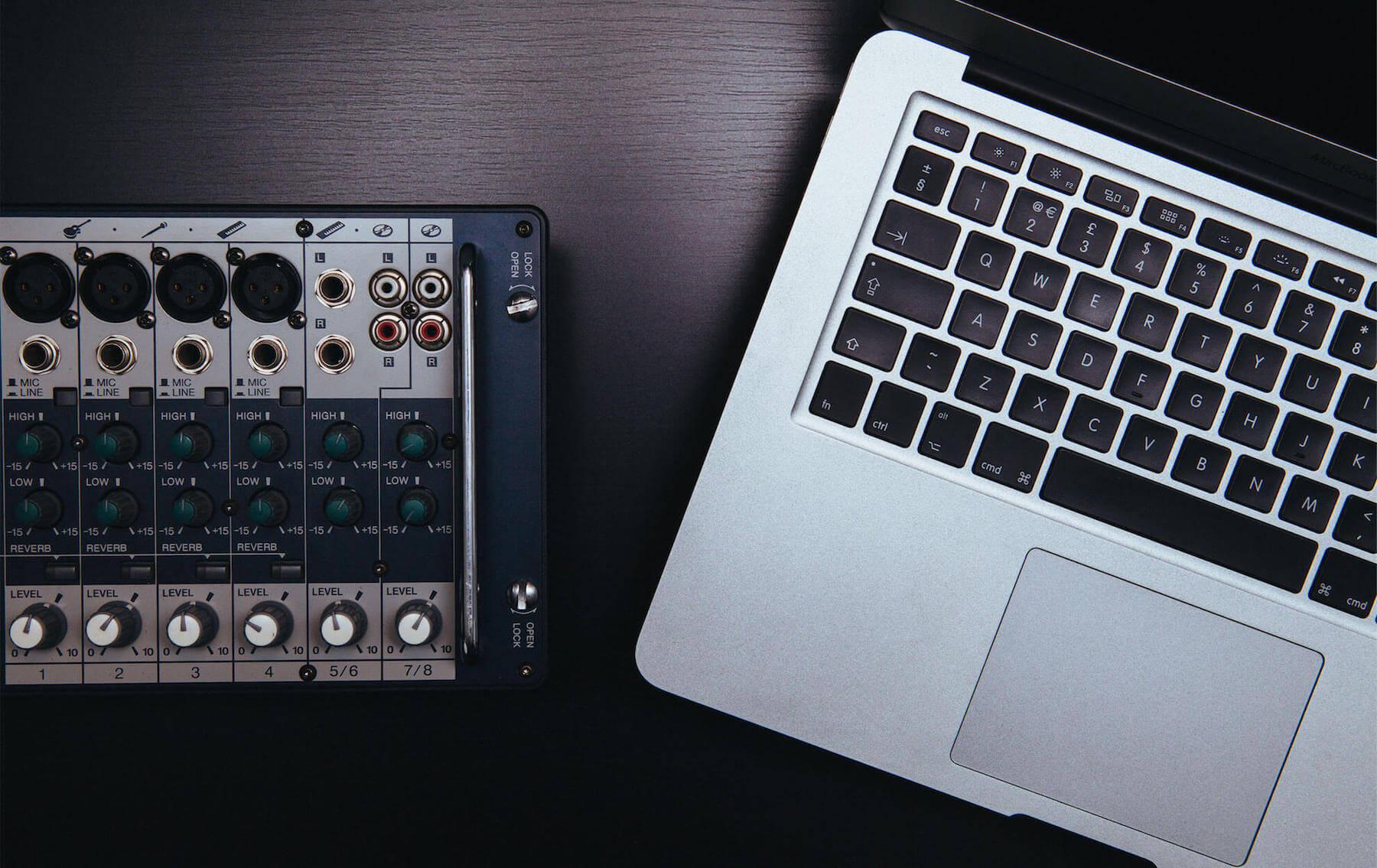 DJ Mixer - Equipment Hire Banner