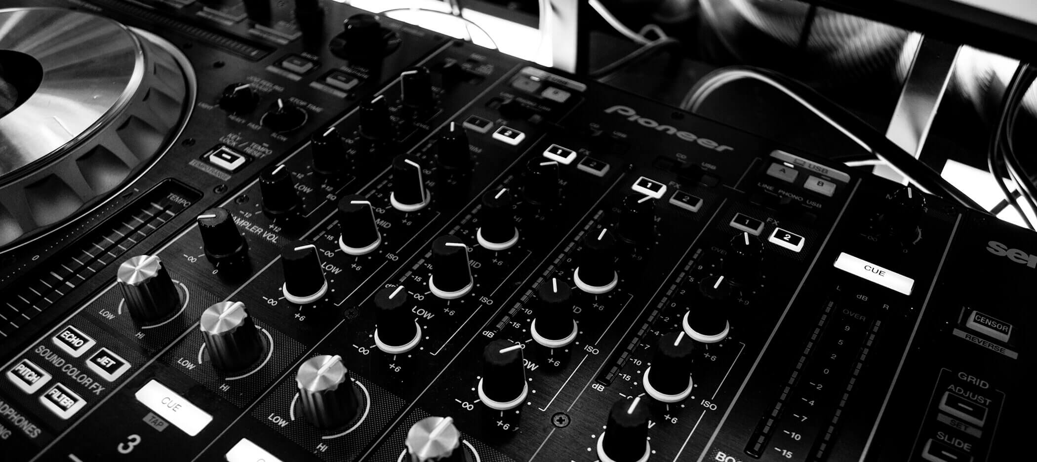 Hire DJ Equipment - New Zealand
