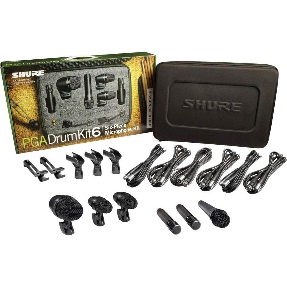 Shure Drum Microphone Kit Machine